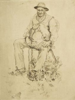 Ernest Philip Pimlott; The Gardner, 1890's